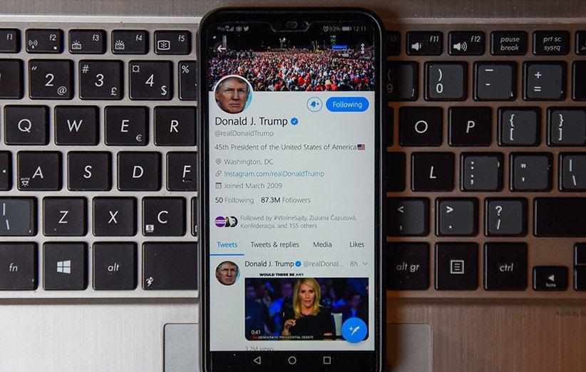 یک متخصص امنیتی ادعا می نماید به سادگی حساب توییتر ترامپ را هک نموده است